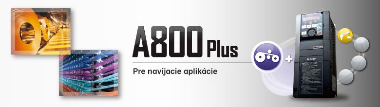 Frekvenčné meniče Mitsubishi Electric FR-A800 R2R - Navíjacie aplikácie