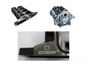 Datalogic AREX 50W - Gravírovanie častí motora