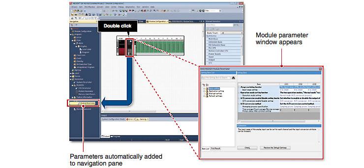 GX Works 3 - Automatické pridanie parametrov