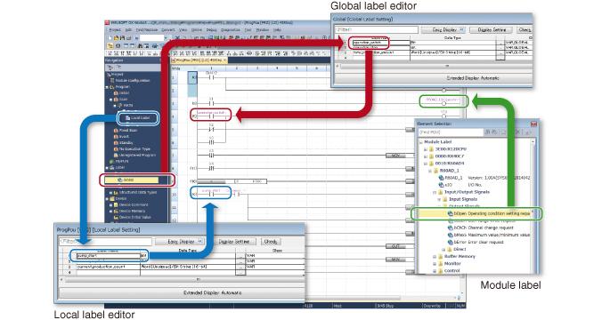 GX Works 3 - Zredukovanie opakujúcich sa úloh