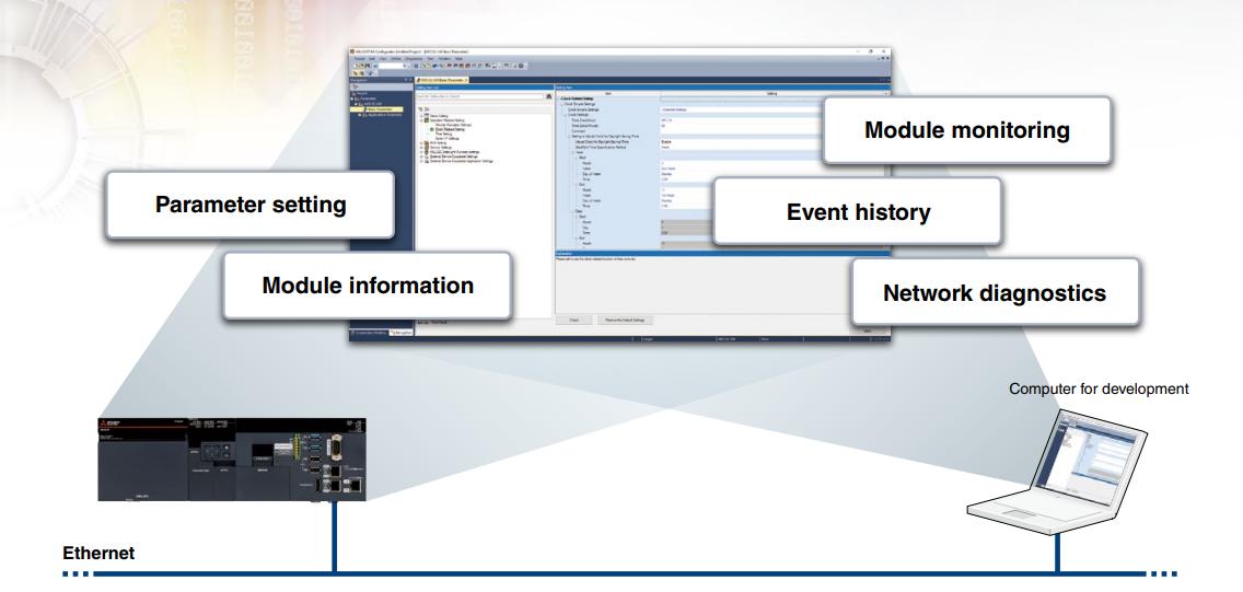 Softvér MI Configurator - Ukážka 1