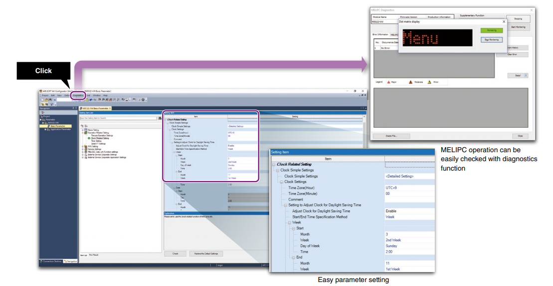Softvér MI Configurator - Ukážka 2