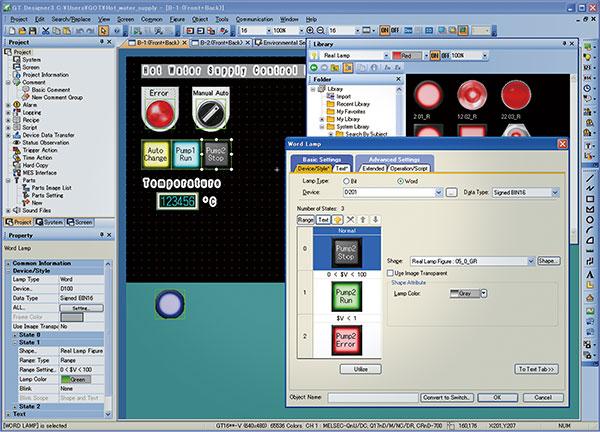 Softvér MELSOFT GT Works 3