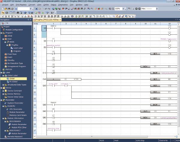 Softvér MELSOFT GX Works 3