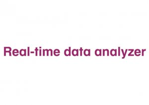 Softvér Real-time data analyzer