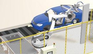 Automatizácia v automotive - Montáž skla