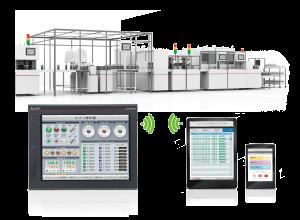 Monitorovanei a vizualizácia zariadení na diaľku