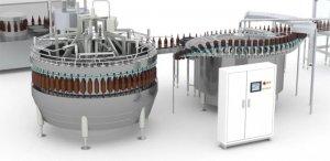 Plnenie fľaší - Priemyselná automatizácia