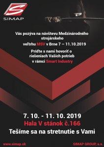MSV Brno 2019 - Pozvánka