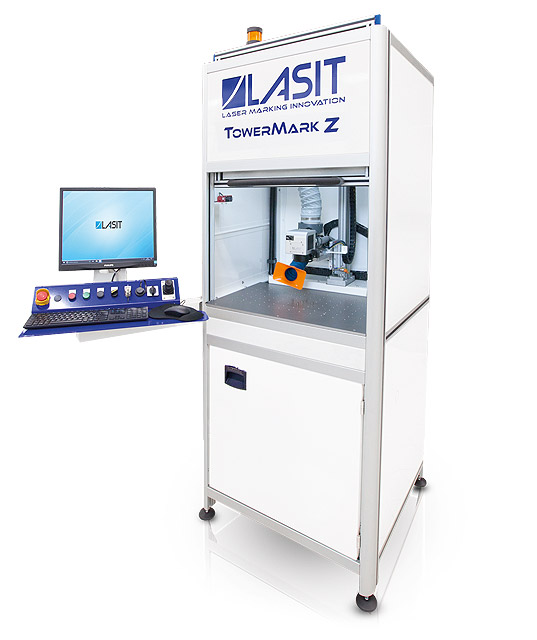 Laserový stroj na gravírovanie Lasit TowerMark Z